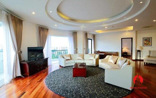 Elegant Suites Hà Nội cho thuê căn hộ 3 phòng ngủ cao cấp 1