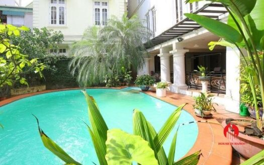 outstanding pool villa for rent in tay ho 6 749x467 1