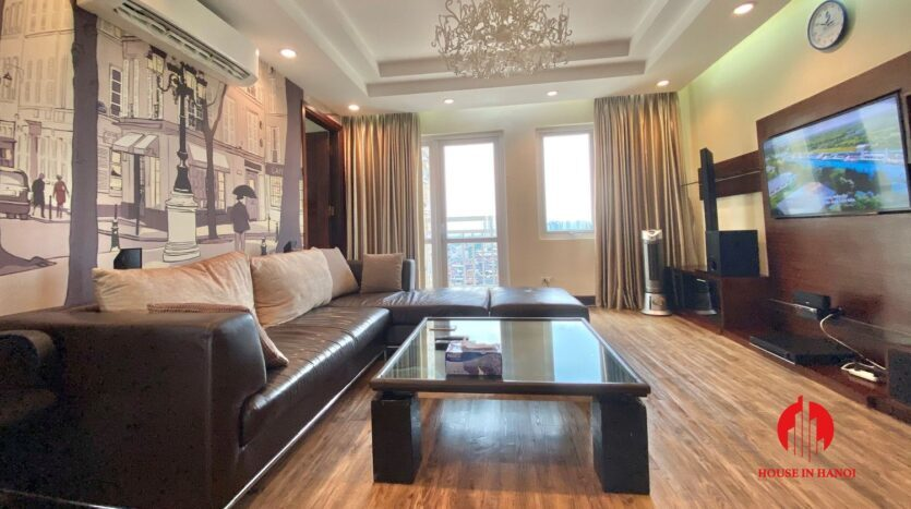 western style apartment for rent in ciputra 4 835x467 1