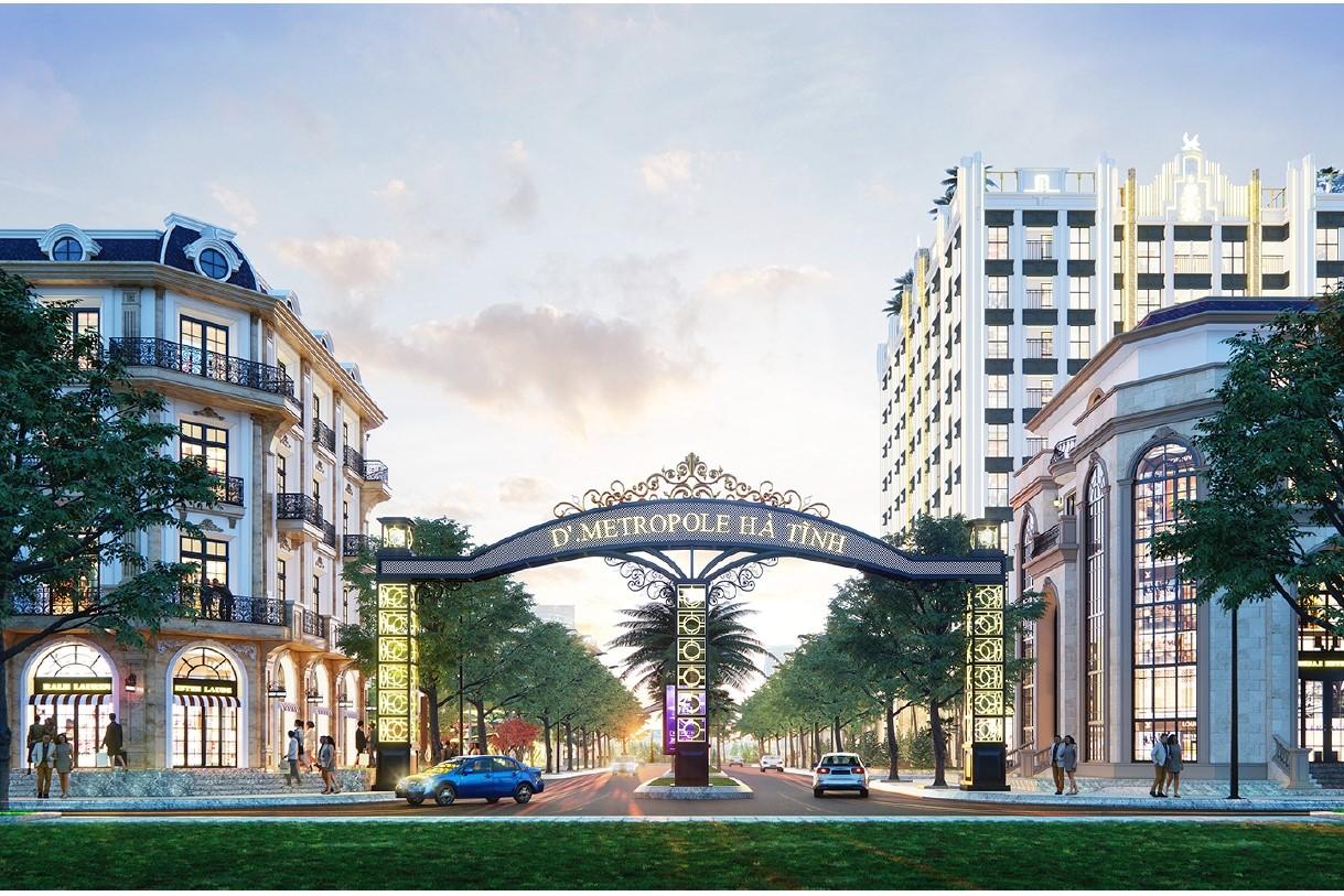 dự án metropole tân hoàng minh hà tĩnh bán 6